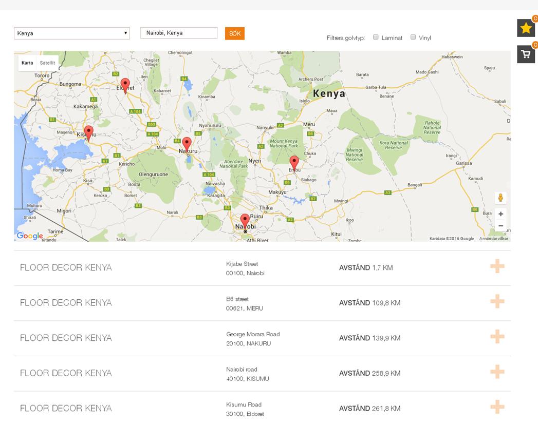 Locations on pergo website floor decor kenya for Floor and decor website